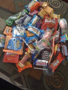 Maisie's Candy Stash.